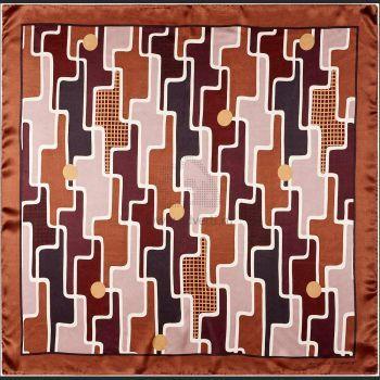 Платок шелковый Geometrique, Jean-Louis Scherrer рисунок