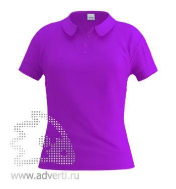 Рубашка поло «Stan Women», женская, фиолетовая