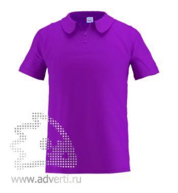Рубашка поло «Stan Primier», мужская, фиолетовая