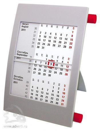 Настольный календарь «Пост» на 2 года, красный