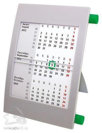 Настольный календарь «Пост» на 2 года, зеленый