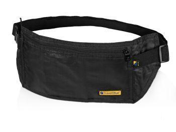 Сумка-кошелек на пояс c RFID защитой, черная