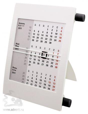 Настольный календарь «Пост 2» на 2 года, черный
