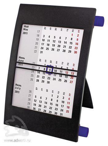 Настольный календарь «Пост 3» на 2 года, синий