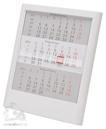 Настольный календарь «Actual» на 2 года, белый