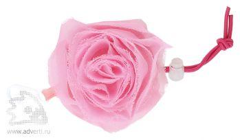 Складная сумка для шопинга в чехле в виде цветка розы, сложенная