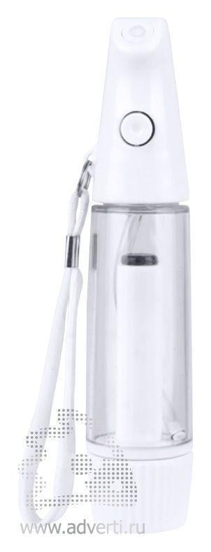 Флакон-спрей для жидкости «Мистер Water», белый