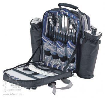 Набор для пикника «Экспедиция» в рюкзаке