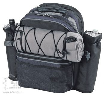 Набор для пикника «Экспедиция» в рюкзаке. в собранном виде