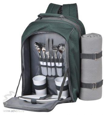 Набор для пикника в рюкзаке «Робинзон»