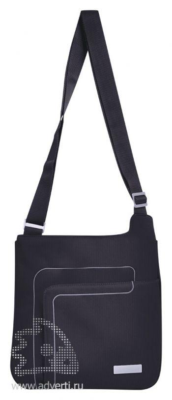 Конференц-сумка «Messenger», черная