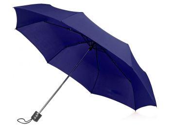 Зонт складной «Columbus», темно-синий
