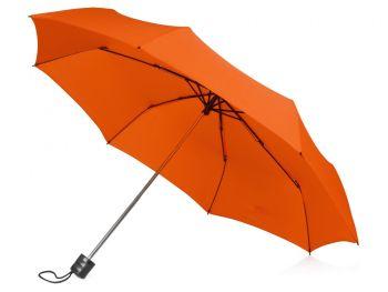 Зонт складной «Columbus», оранжевый