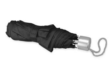 Зонт складной «Tempe», черный, сложенный