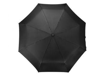 Зонт складной «Tempe»,черный, купол