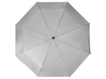 Зонт складной «Columbus», серый, купол