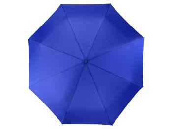 Зонт складной «Irvine», синий, купол