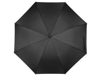 Зонт-трость «Wind», черный, купол