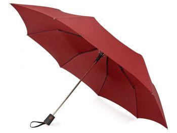 Зонт складной «Irvine», бордовый