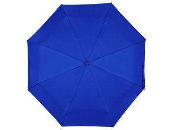 Зонт складной «Ontario», синий, купол