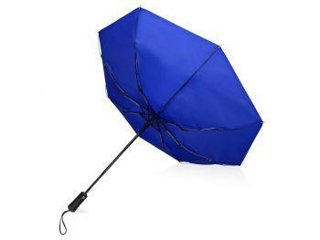 Зонт складной «Ontario», синий, вывернут