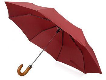 Зонт складной «Cary», бордовый