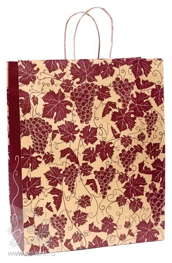 Пакет крафт «Виноградная лоза»