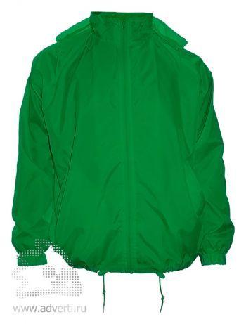 Ветровка «Red Fort», унисекс, зеленая