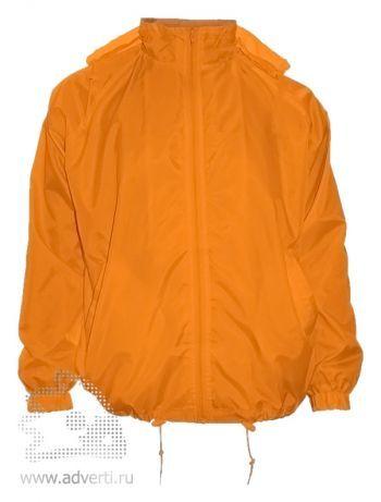 Ветровка «Red Fort», унисекс, оранжевая