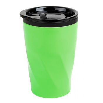Термокружка «Neon», зеленая