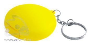 Антистрессболл-брелок «Теннис»с фонариком