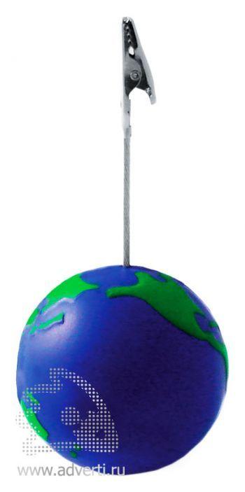 Держатель для визиток «Земной шар»