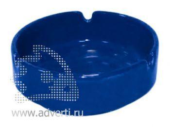 Пепельница керамическая PR-008, синяя