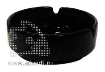 Пепельница керамическая PR-008, черная