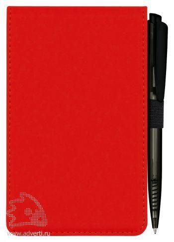Конференц блокнот «Skuba Jotter», красный