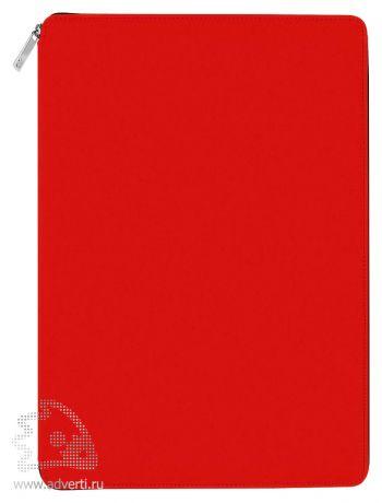 Папка A4 на молнии «Skuba Zipper&raquo, красная