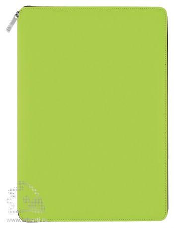Папка A4 на молнии «Skuba Zipper&raquo, светло-зеленая