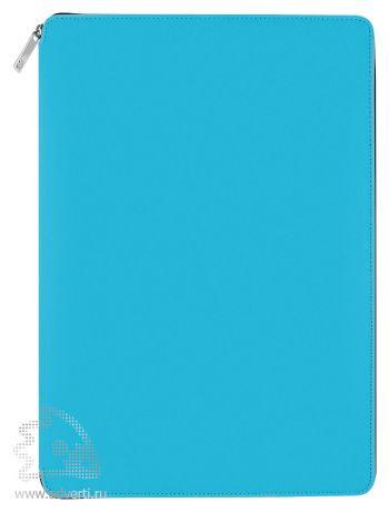 Папка A4 на молнии «Skuba Zipper&raquo, голубая