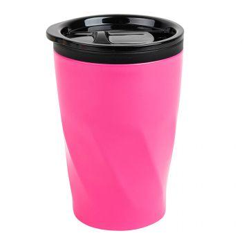Термокружка «Neon», розовая