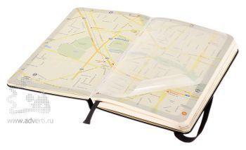 Записная книжка «City Berlin» (Берлин), Pocket, карта города