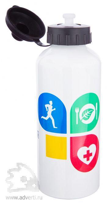 Бутылка спортивная под сублимацию, открытая