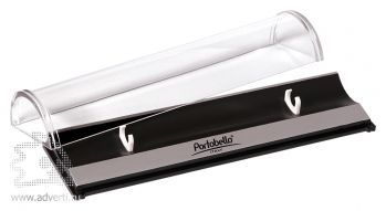 Пластиковый футляр для ручки с логотипом Portobello