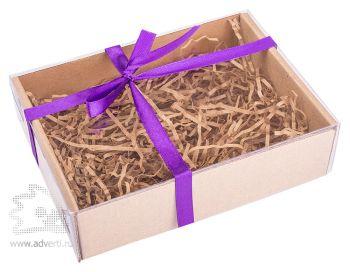 Крафт коробочка на 2-4 мыла