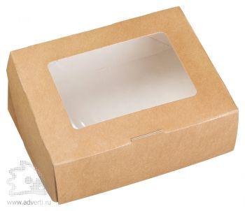 Крафт коробочка на 1 мыло