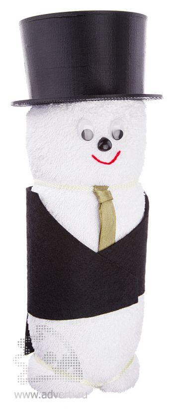 Полотенца-фигурки «Жених», белые