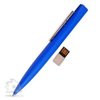 USB-Flash ручка «Buran 309», синяя, с флешкой