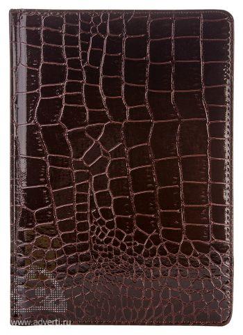 Ежедневники «Caiman», коричневые