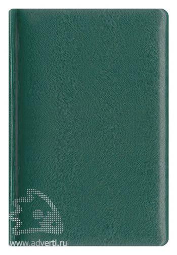 Ежедневники и еженедельники «Каприс», зеленые