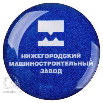 Значки с полимерной заливкой, круглые