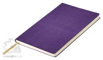 Ежедневник «Flax City», фиолетовый